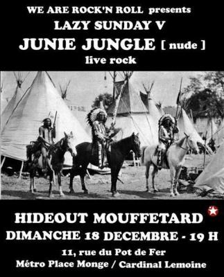 Lazy Sunday V : Junie Jungle Live