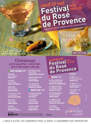 Soirée, Paris, Festival, Rosé, Eté