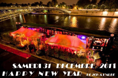 New Year 2012 au QUAI