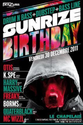 SUNRIZE BIRTHDAY (DnB & Dubstep) - Paris