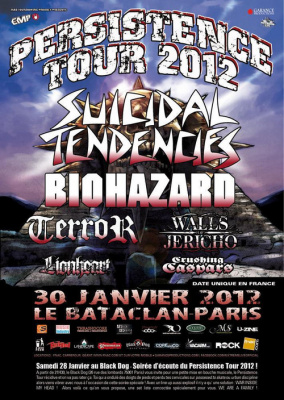 PERSISTENCE TOUR 2012
