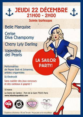 Soirée burlesque La Sailor Party