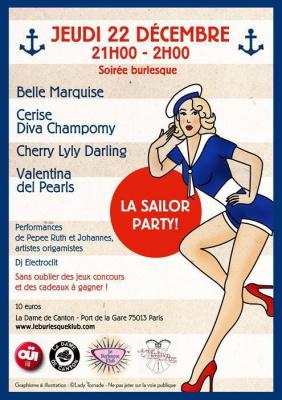 Soirée burlesque La Sailor Party