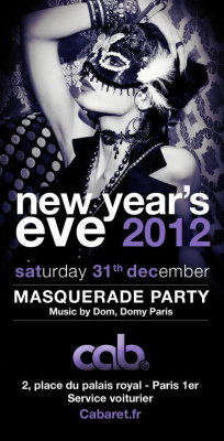 New year's eve 2012 @ CAB