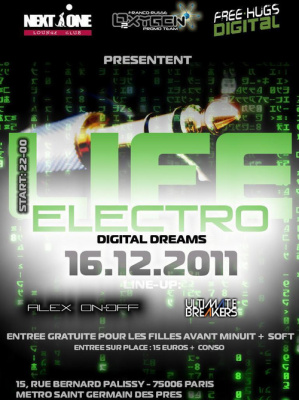 ELECTROLIVE DIGITAL DREAMS