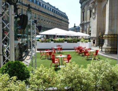 Terrasse de l 39 op ra restaurant for Restaurant abri paris