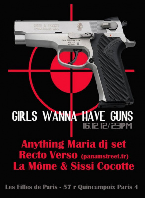 GIRLS WANNA HAVE GUNS #1