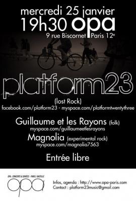 platform 23 en concert