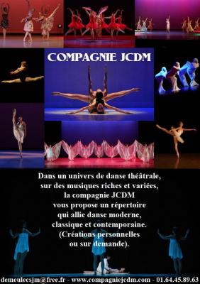 Spectacle de la Compagnie de danse JCDM