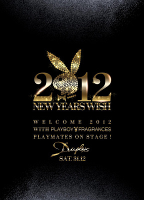 2012 New Year ! PLAYBOY FRAGRANCES
