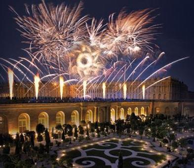 Le roi de feu le spectacle pyrotechnique dans les jardins - Jardin chateau de versailles horaires ...