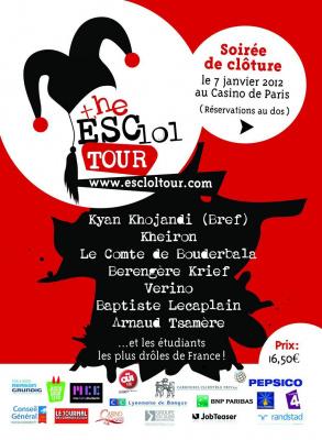 The ESC LOL Tour - 1ère Edition