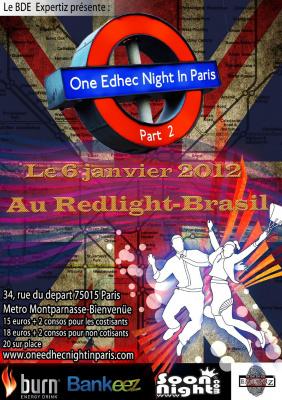 One Edhec night in Paris Part II