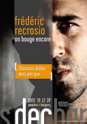 Frédéric Recrosio  On bouge encore