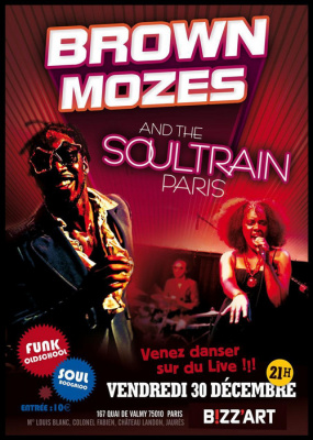 THE SOUL TRAIN Paris
