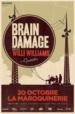 Brain Damage Ft. Willi Williams & Guest
