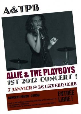 Allie & The Playboys @ Le Cavern Club