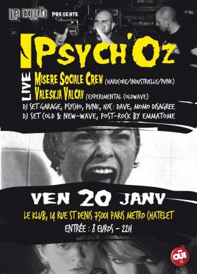 Soirée Psych'Oz