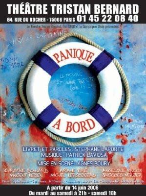 Spectacle, Théâtre, Paris, Panique à bord, Tristan Bernard