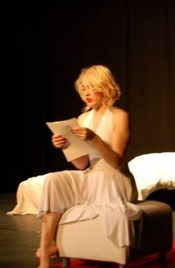Spectacle, théâtre, Paris, Crépuscule d'une étoile, Funambule, Marilyn