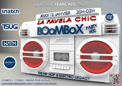 BOOMBOX PARTY #02