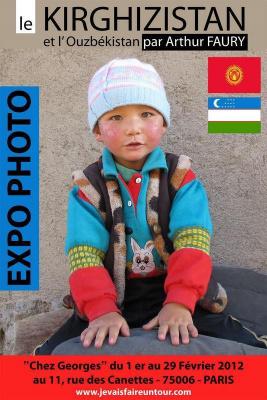 Expo photo sur le Kirghizistan et l' Ouzbékistan