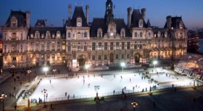 Les patinoires à Paris et en Ile de France