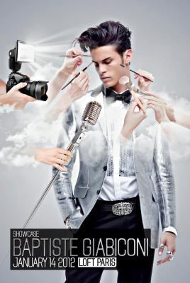Baptiste Giabiconi @ Le Loft Paris 14/01/2012