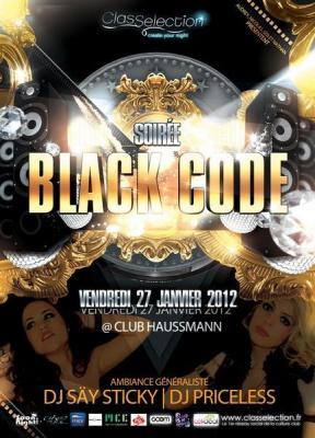 ClasSelection : Black Code
