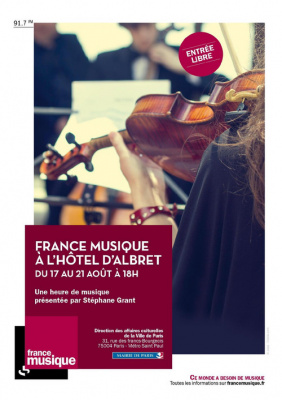 France Musique fait son festival à l'Hôtel d'Albret : concerts gratuits