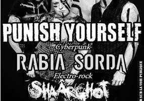 PUNISH YOURSELF + RABIA SORDA + SHAÂRGOTH