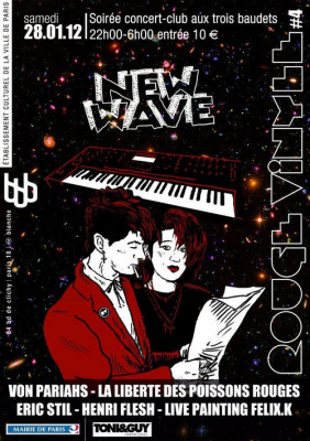 Rouge Vinyle#4 New Wave