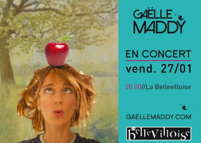 CONCERT gaëlle maddy