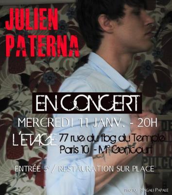 Concert de Julien Paterna