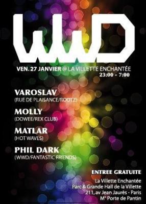 WE WANT DANCE //VAROSLAV//MOLLY//MATLAR//PHIL DARK