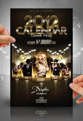 Le Calendrier 2012 du DUPLEX !