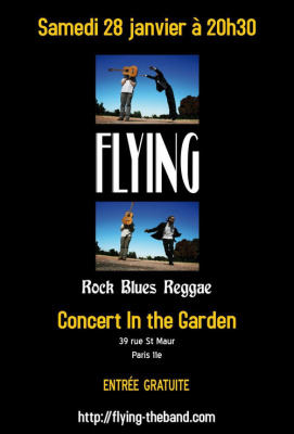 Concert : FLYING @ In the garden