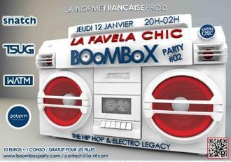 BOOMBOX PARTY