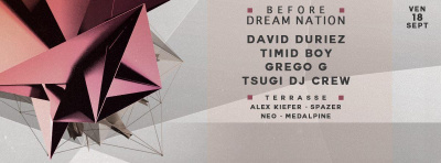 18/09 - Dream Nation Before-Party @Petit Bain
