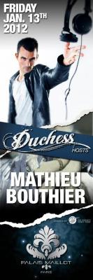 MATHIEU BOUTHIER @ PALAIS MAILLOT