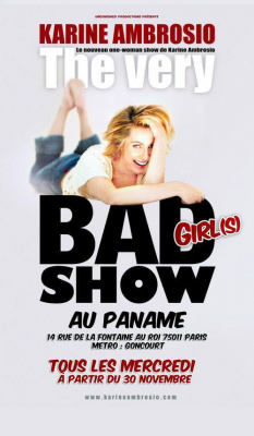 the very bad girl show