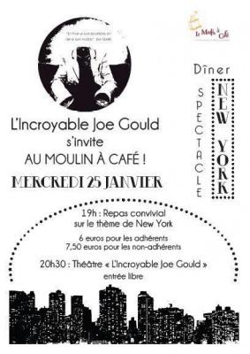 Diner Spectacle au cœur du New York des années 50 !