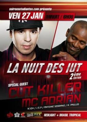 LA NUIT DES IUT - CUT KILLER & MC Adrian (FG Radio)