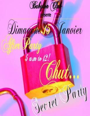 Chut...Secret Party...