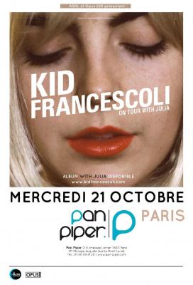 Kid Francescoli en concert au Pan Piper