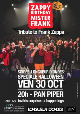 Zappy Birthday Mister Frank - Special Halloween