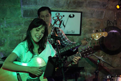 Gabriella Lima en concert