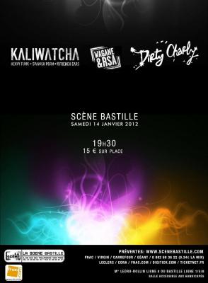 concert Wagane & RSA + Dirty Charly + Kaliwatcha