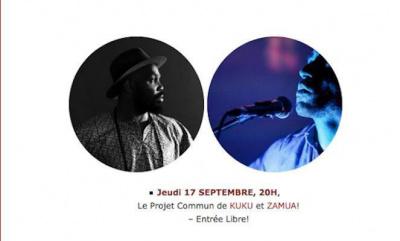 KUKU & ZAMUA EN CONCERT @ LA GALERIE 88! Entrée Libre