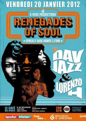 RENEGADES OF SOUL